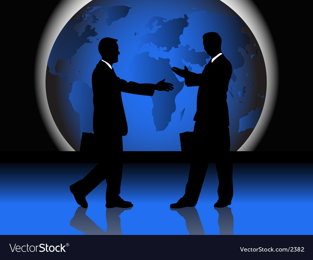 Business handshake vector | Price: 3 Credit (USD $3)