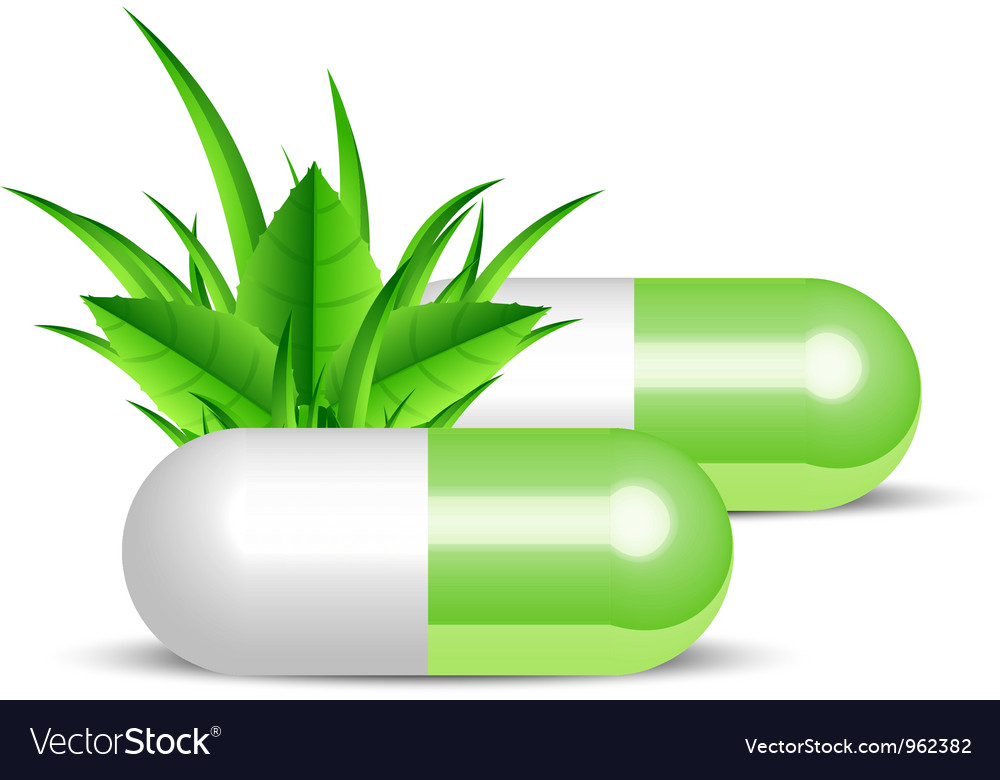 Natural pills vector   Price: 1 Credit (USD $1)