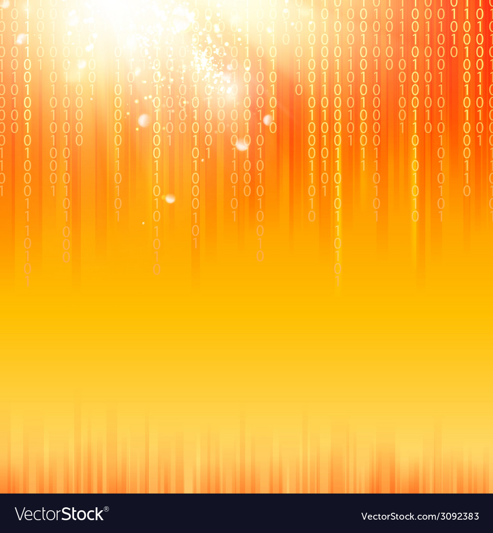 Abstract binary code background vector | Price: 1 Credit (USD $1)
