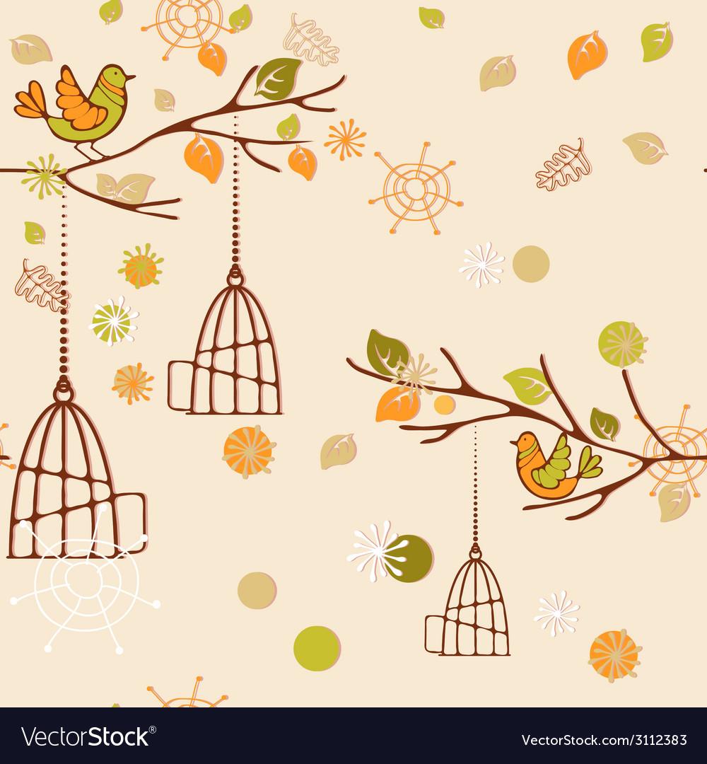 Autumn pattern vector | Price: 1 Credit (USD $1)