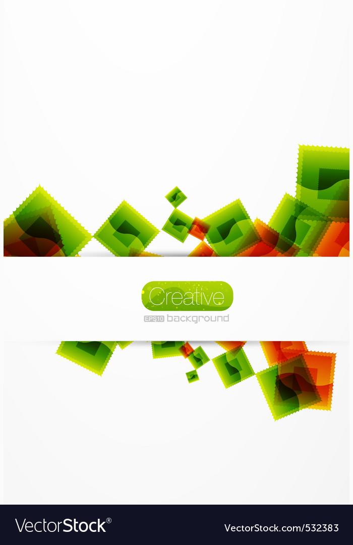 Creative template vector | Price: 1 Credit (USD $1)