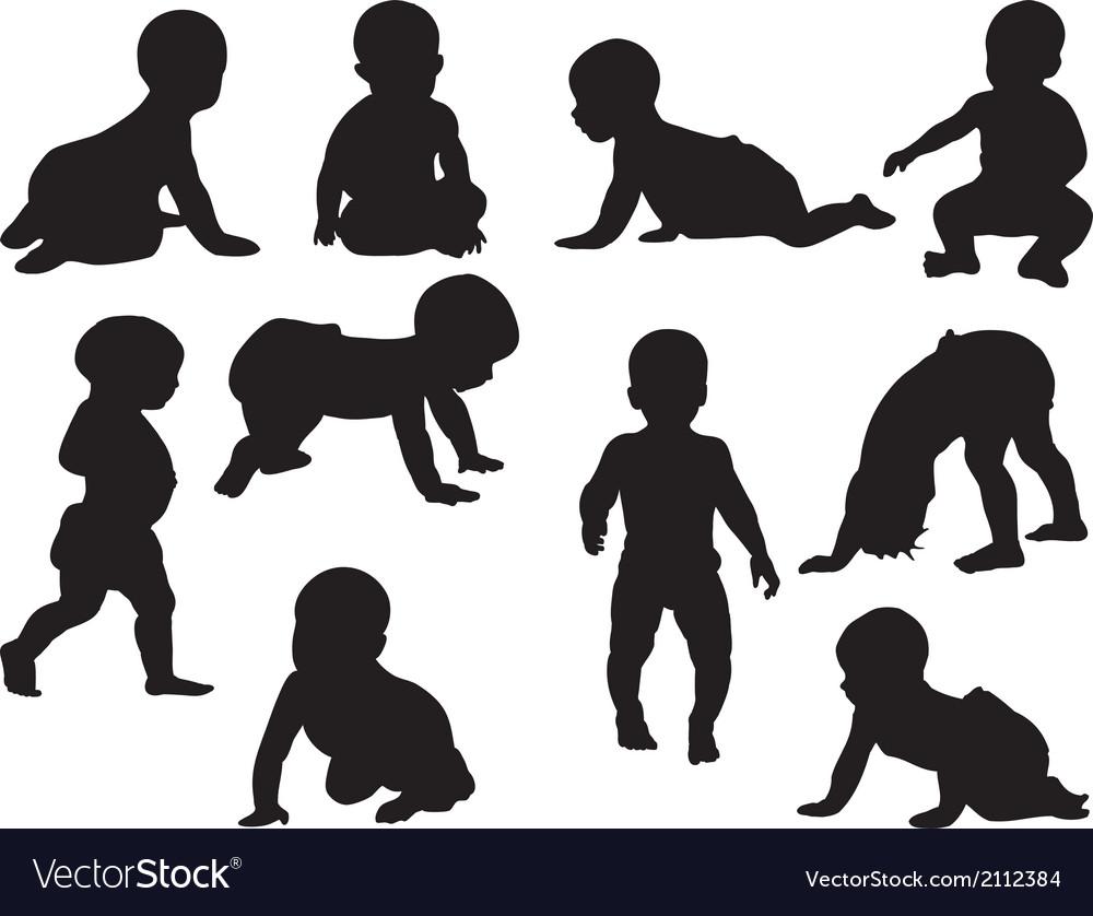 Babies vector | Price: 1 Credit (USD $1)