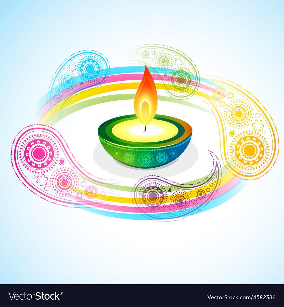 Diwali background vector | Price: 1 Credit (USD $1)