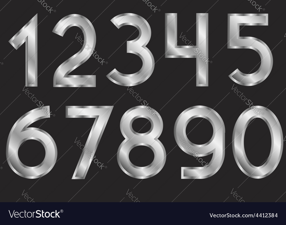 Silver numbers vector