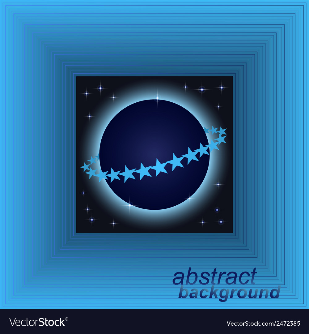 Abstract space tunnel background vector | Price: 1 Credit (USD $1)