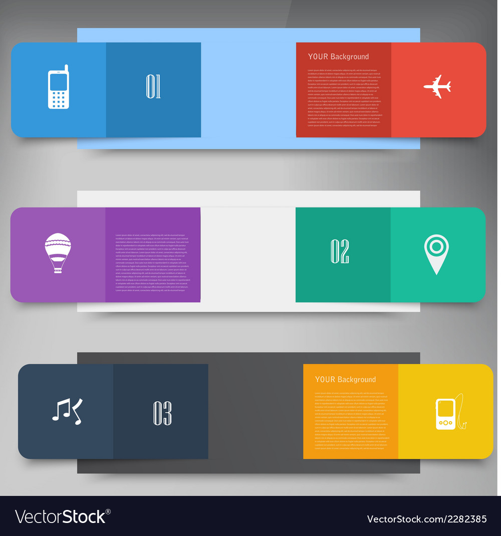 Flat design concept design vector | Price: 1 Credit (USD $1)