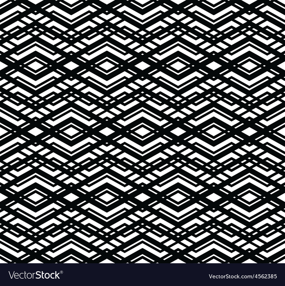 Monochrome visual abstract textured geometric vector | Price: 1 Credit (USD $1)
