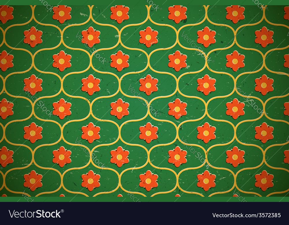 Seamless floral pattern on the cardboard vector   Price: 1 Credit (USD $1)