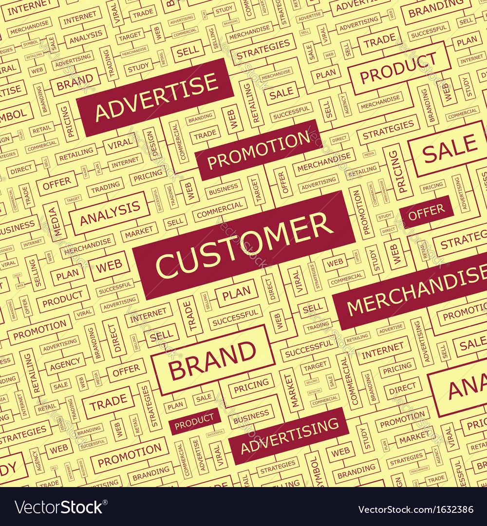 Customer vector   Price: 1 Credit (USD $1)