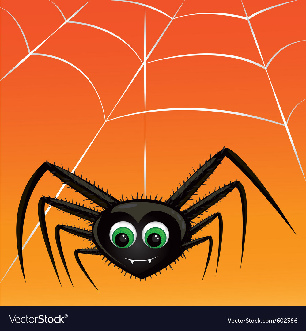 Vampire spider vector | Price: 1 Credit (USD $1)