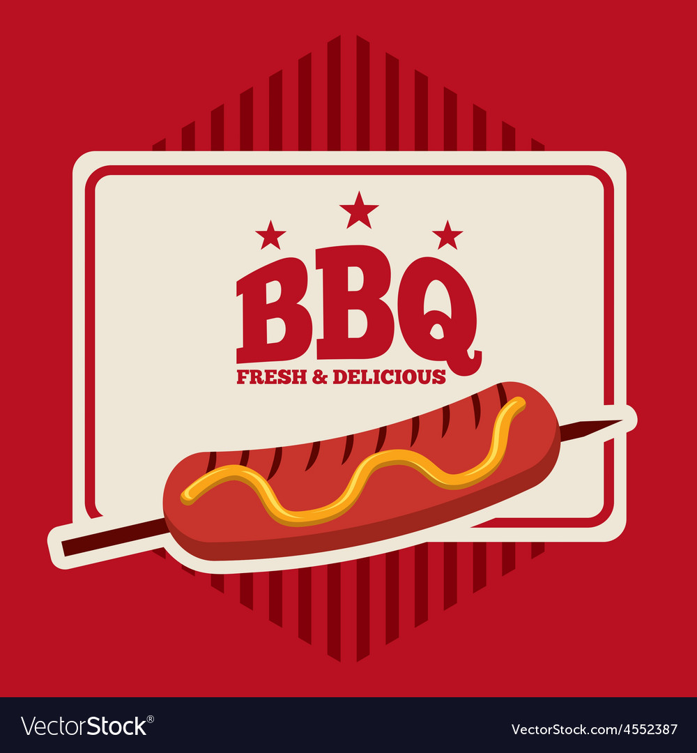 Bbq menu vector | Price: 1 Credit (USD $1)