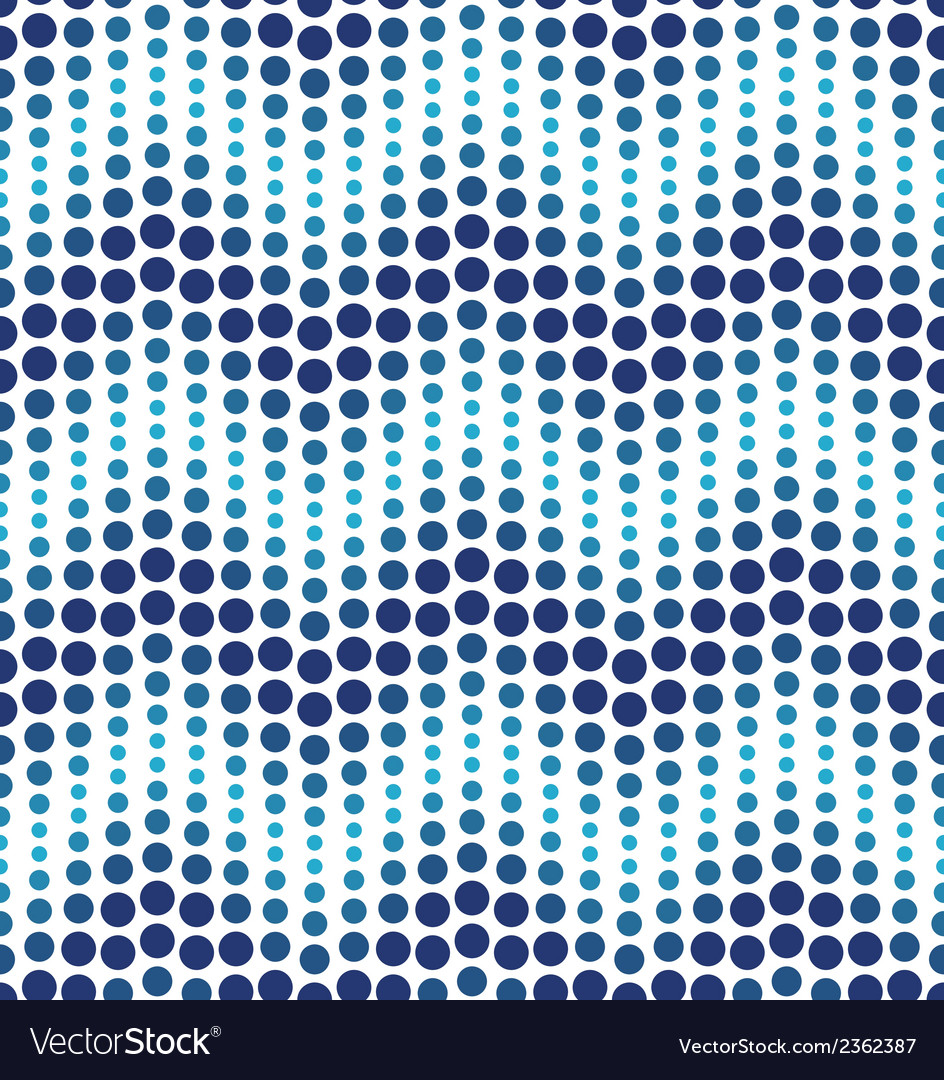 Blue geometrical circle pattern vector | Price: 1 Credit (USD $1)