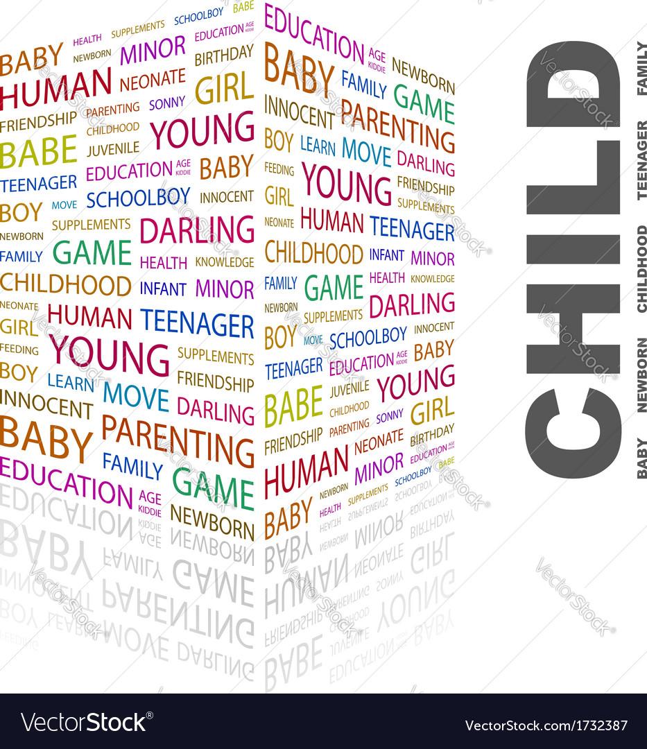 Child vector | Price: 1 Credit (USD $1)