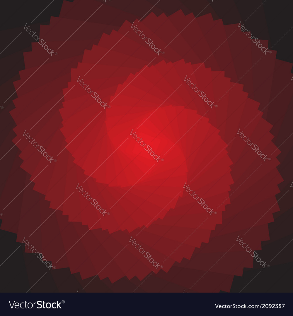 Red rotation shape vector | Price: 1 Credit (USD $1)