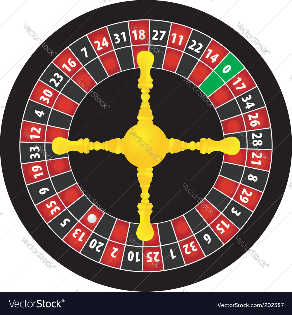 Roulette object vector | Price: 1 Credit (USD $1)
