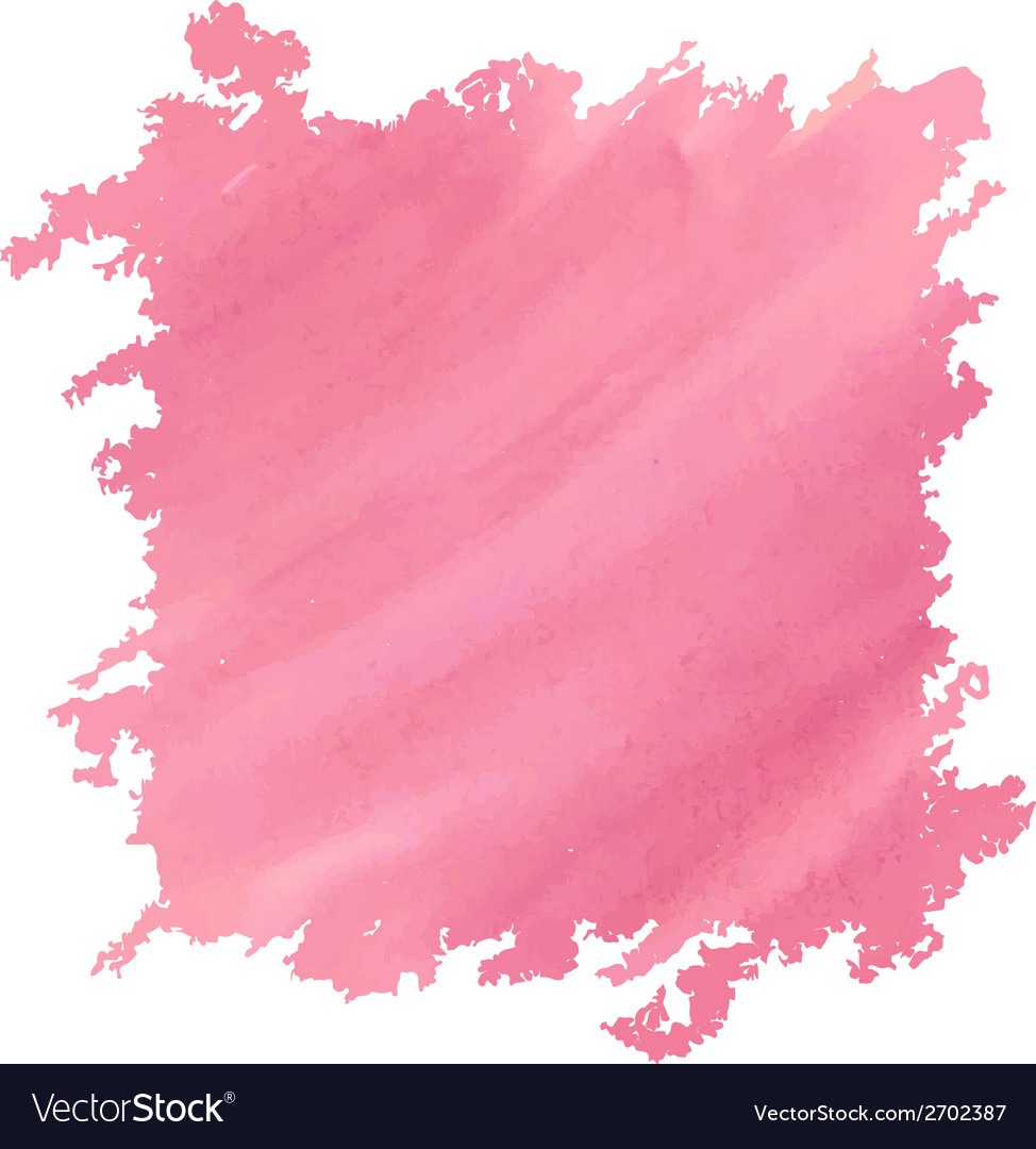 Watercolor deep pink vector | Price: 1 Credit (USD $1)