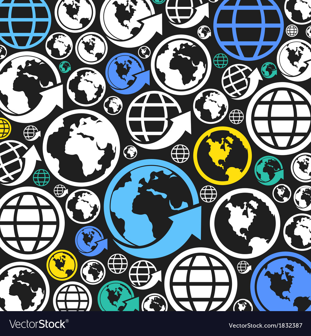 World a background vector | Price: 1 Credit (USD $1)