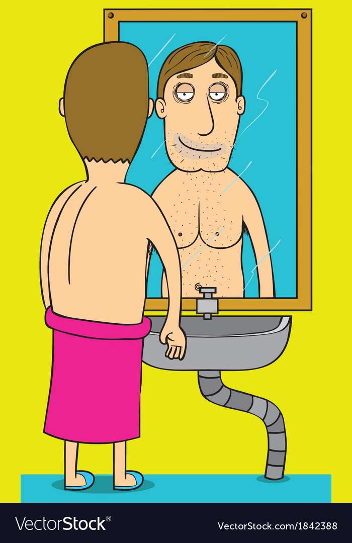 Good morning mirror vector | Price: 1 Credit (USD $1)