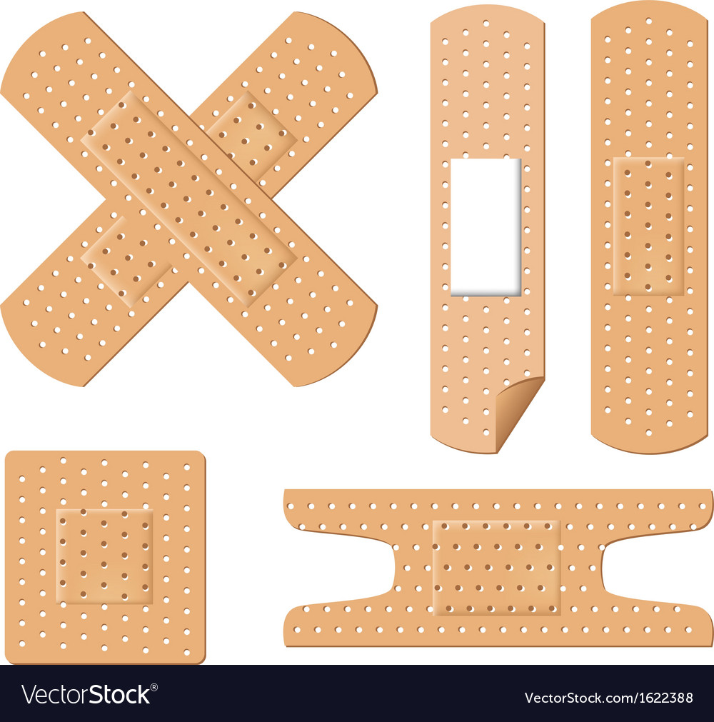 Medical bandages vector | Price: 1 Credit (USD $1)