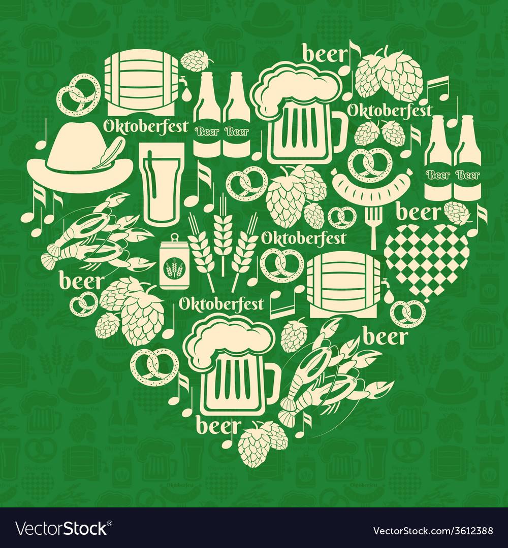 Oktoberfest badge vector | Price: 1 Credit (USD $1)