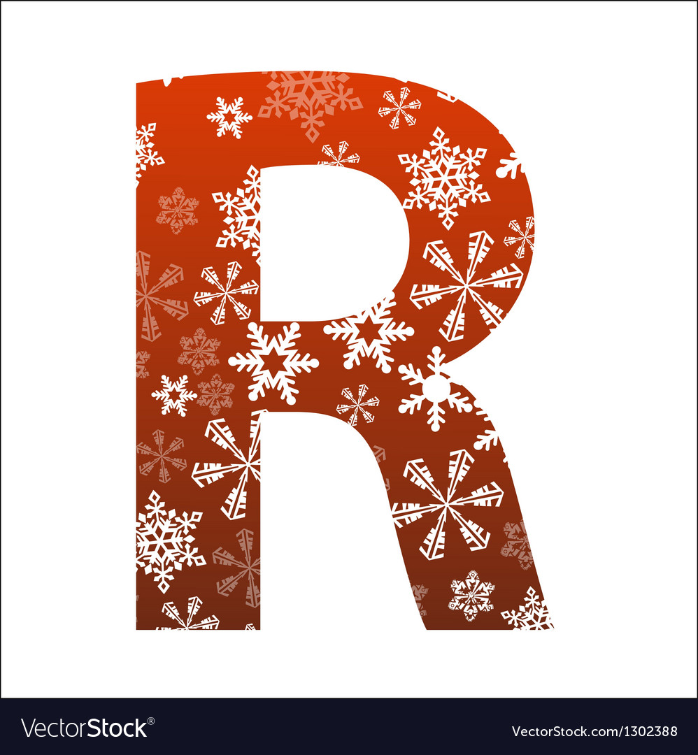 R letter vector | Price: 1 Credit (USD $1)