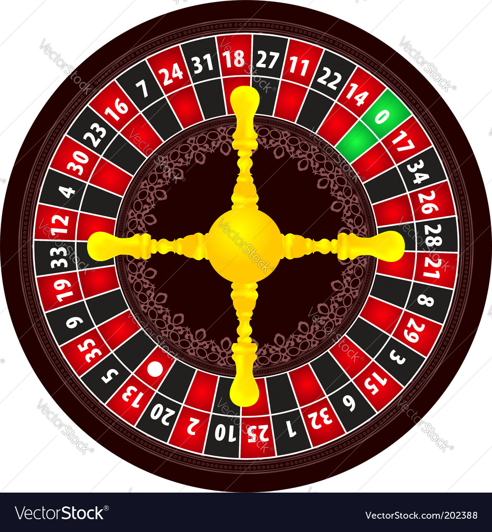 Roulette icon vector   Price: 1 Credit (USD $1)