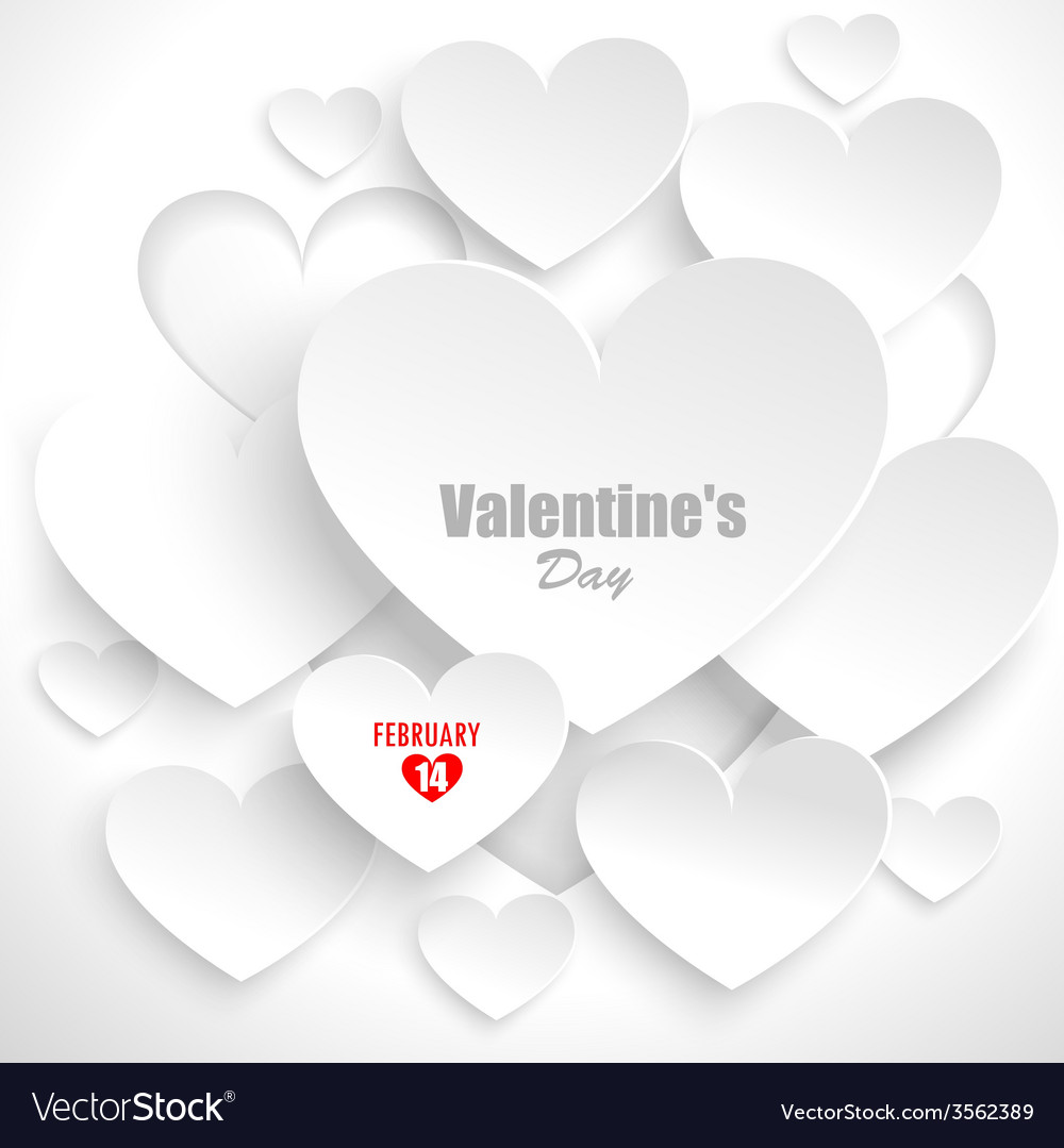 Abstract background with hearts vector | Price: 1 Credit (USD $1)