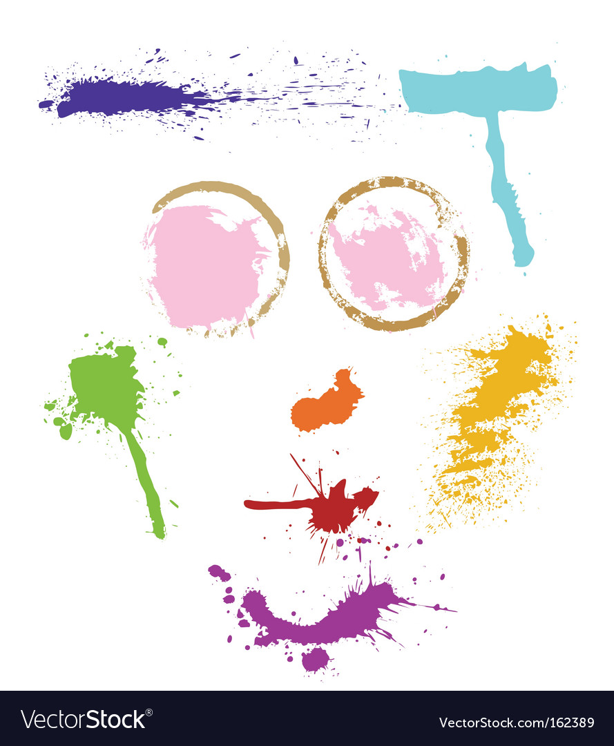 Colorful stains vector   Price: 1 Credit (USD $1)