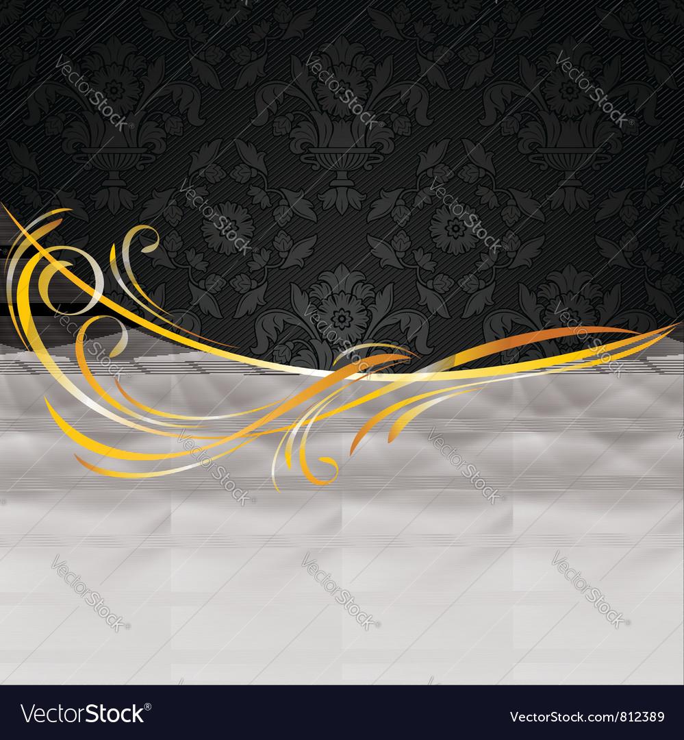 Dark fabric drapes vector | Price: 1 Credit (USD $1)