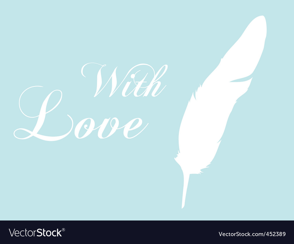 Feather quill vector | Price: 1 Credit (USD $1)