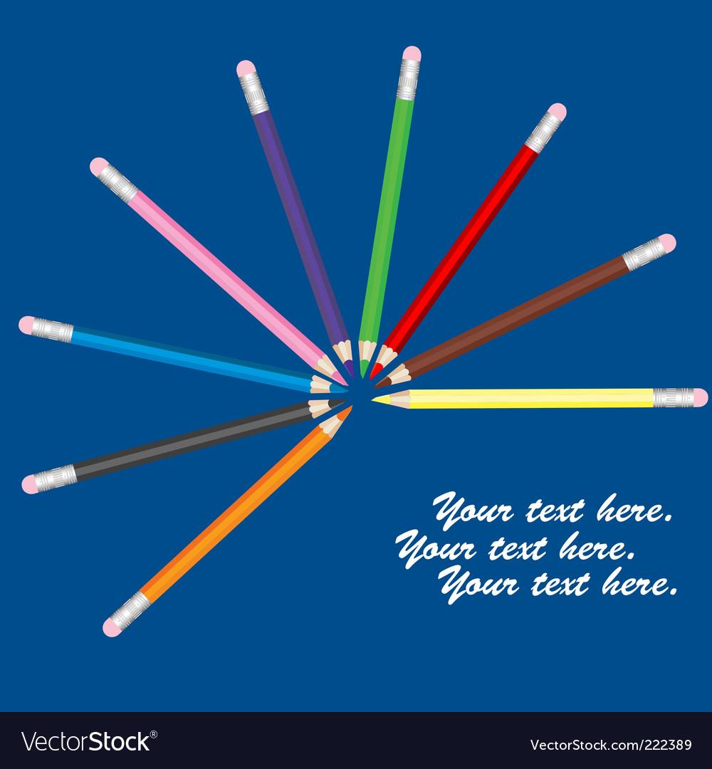 Pencils vector   Price: 1 Credit (USD $1)