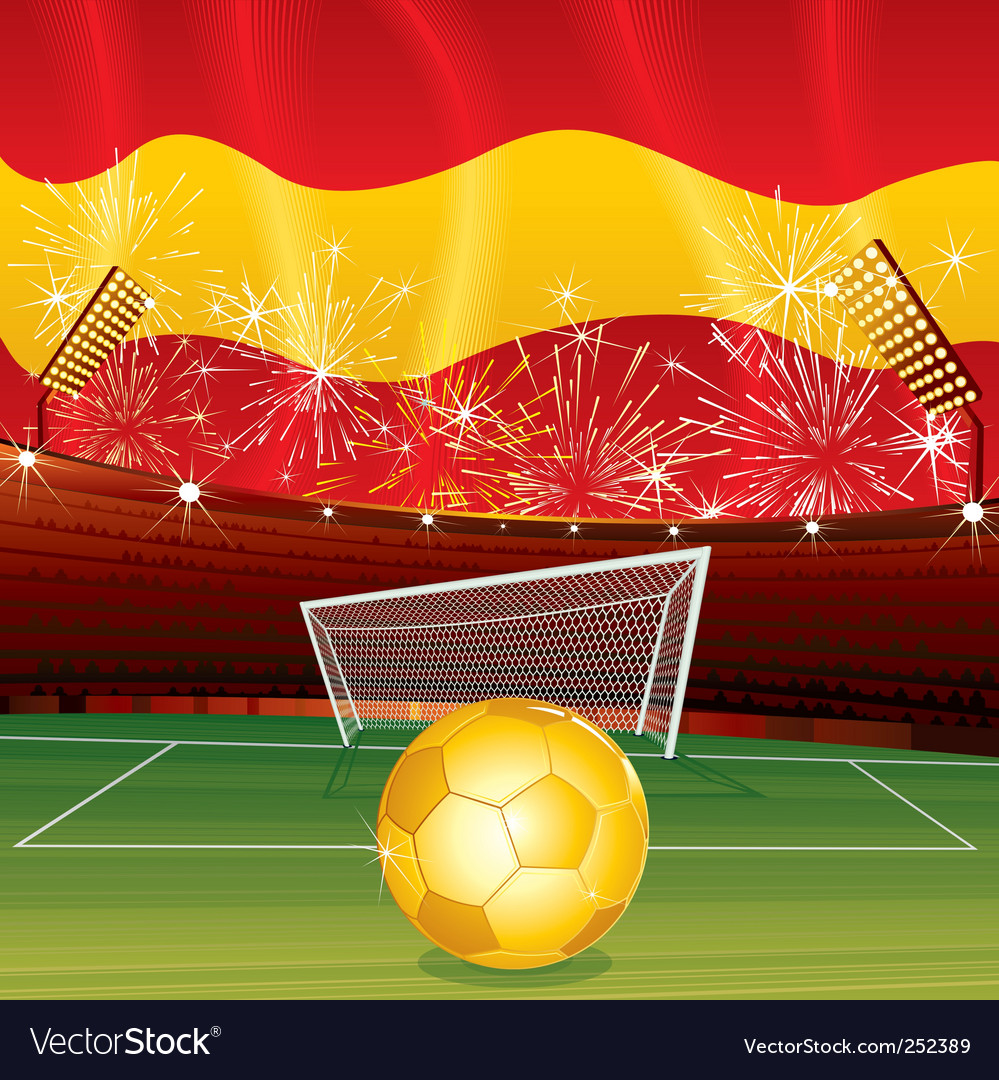 Soccer cartoon vector | Price: 3 Credit (USD $3)