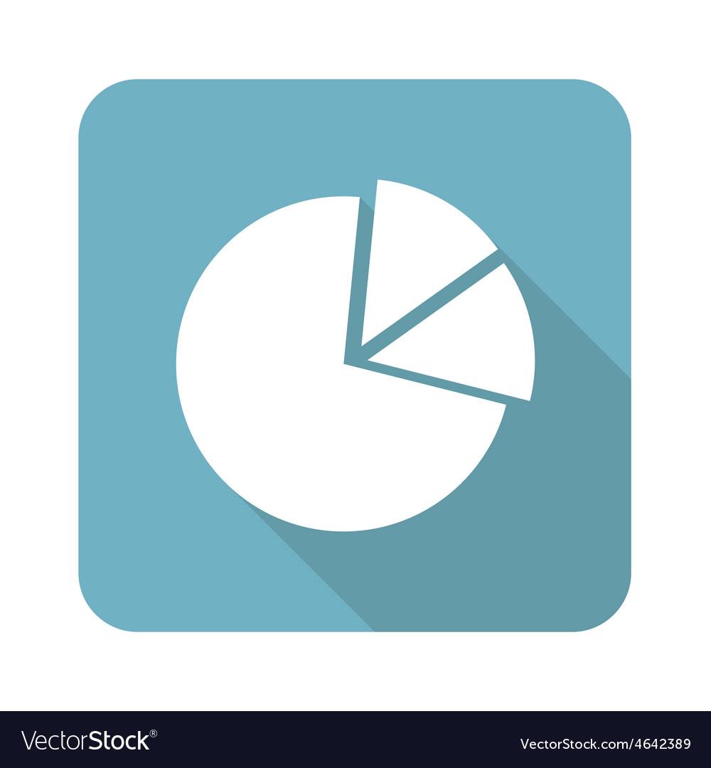 Square diagram icon vector | Price: 1 Credit (USD $1)
