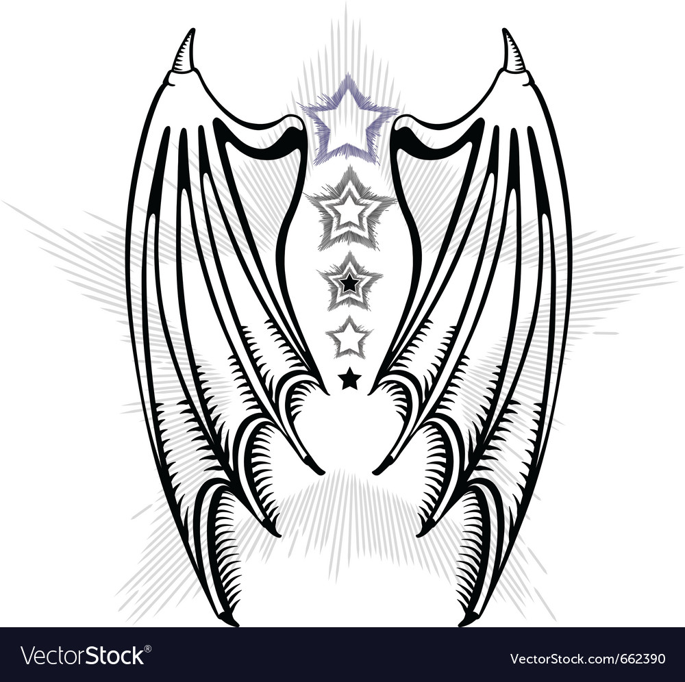Devil wings vector | Price: 1 Credit (USD $1)