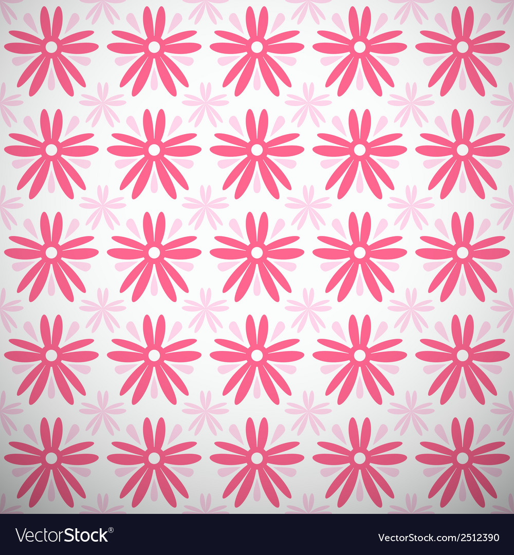 Light summer pattern tiling fond pink and white vector | Price: 1 Credit (USD $1)