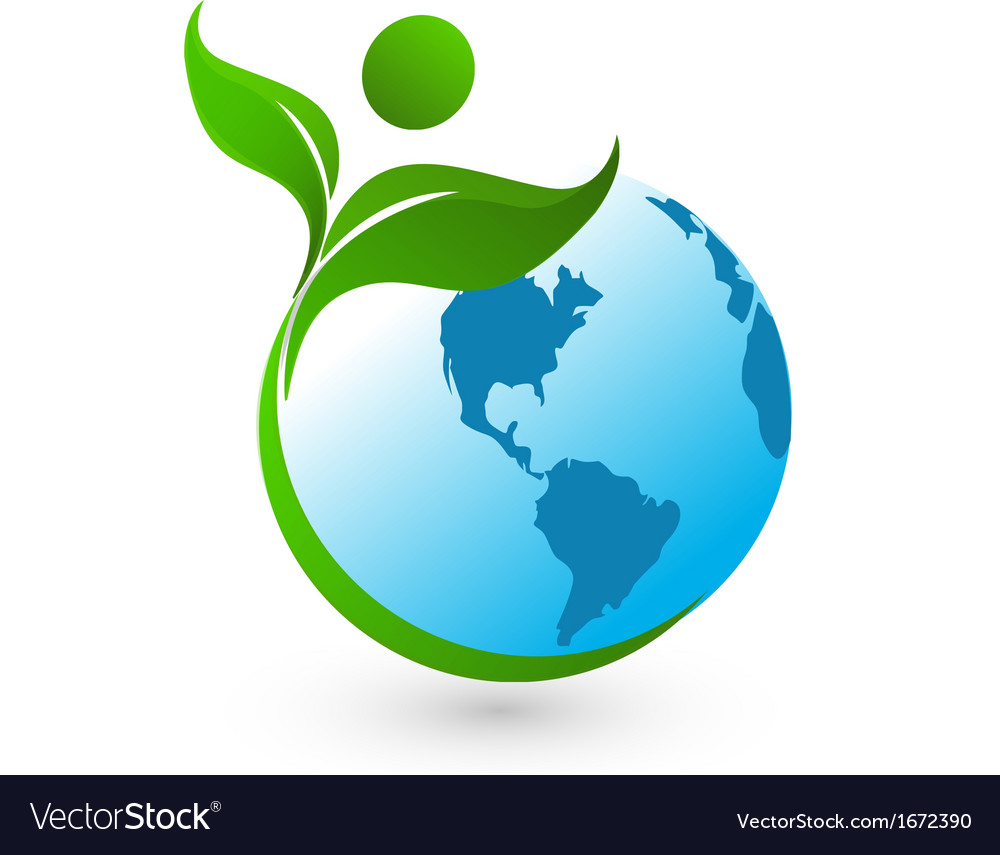 Nature green and world vector   Price: 1 Credit (USD $1)