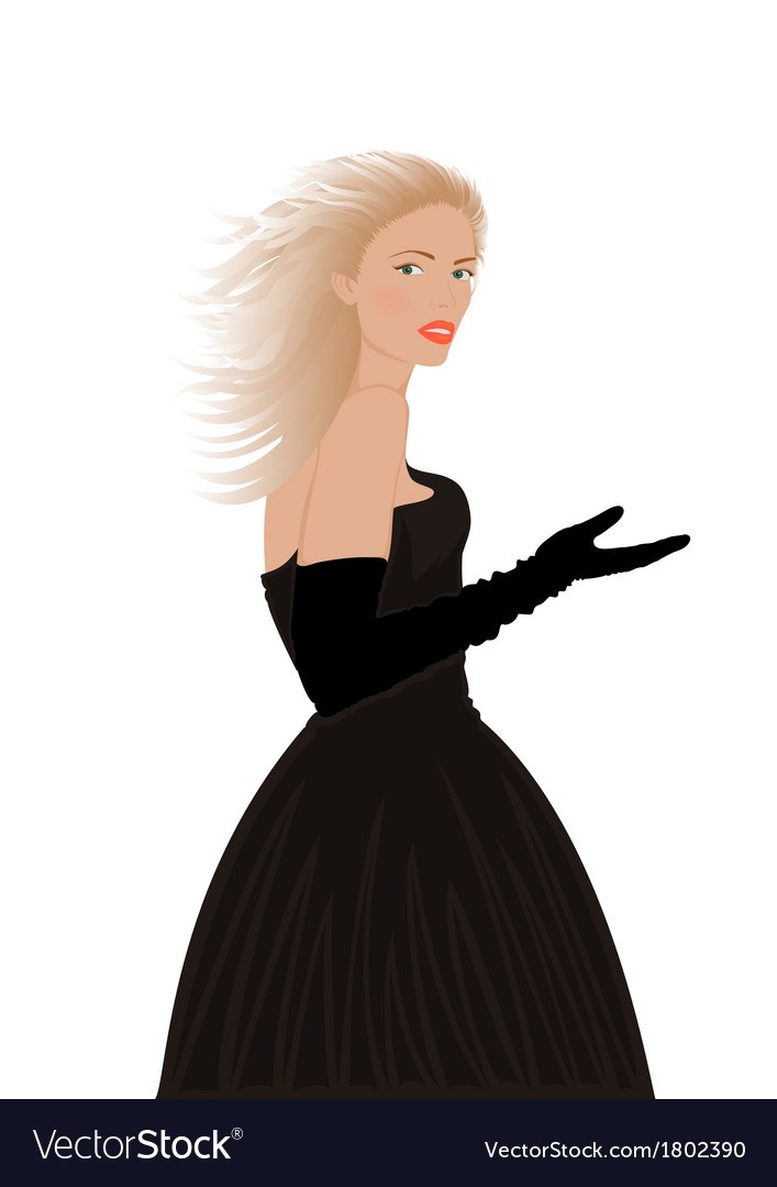 Portrait of beautiful woman vector   Price: 1 Credit (USD $1)