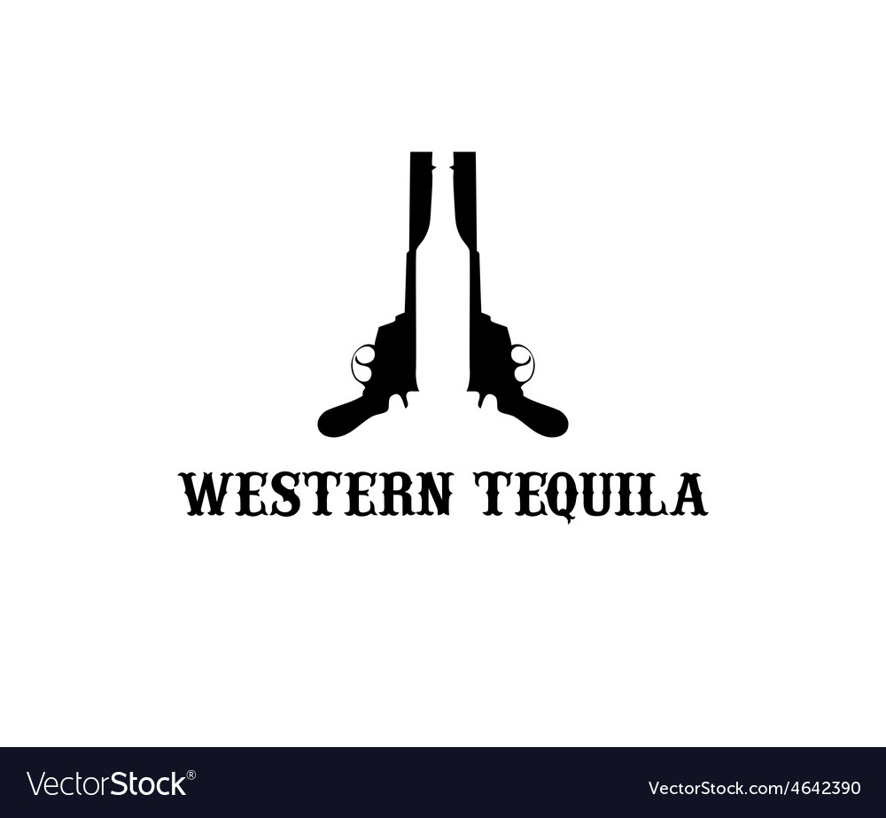 Western tequila vector | Price: 1 Credit (USD $1)