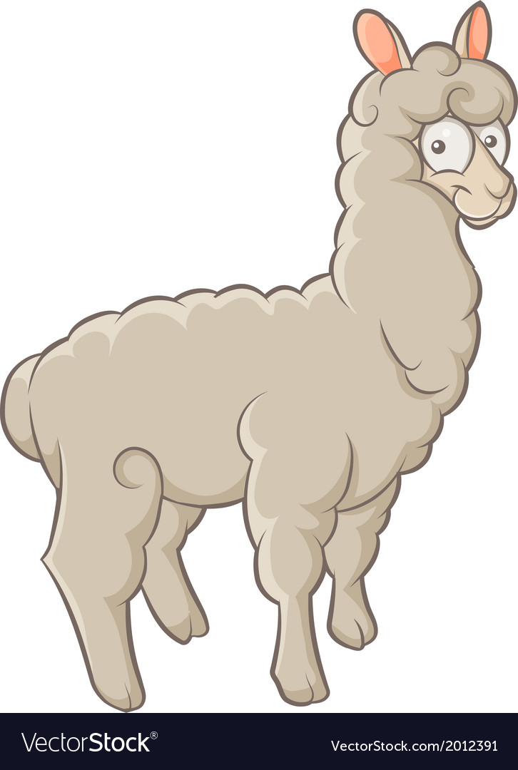 Alpaca vector | Price: 1 Credit (USD $1)