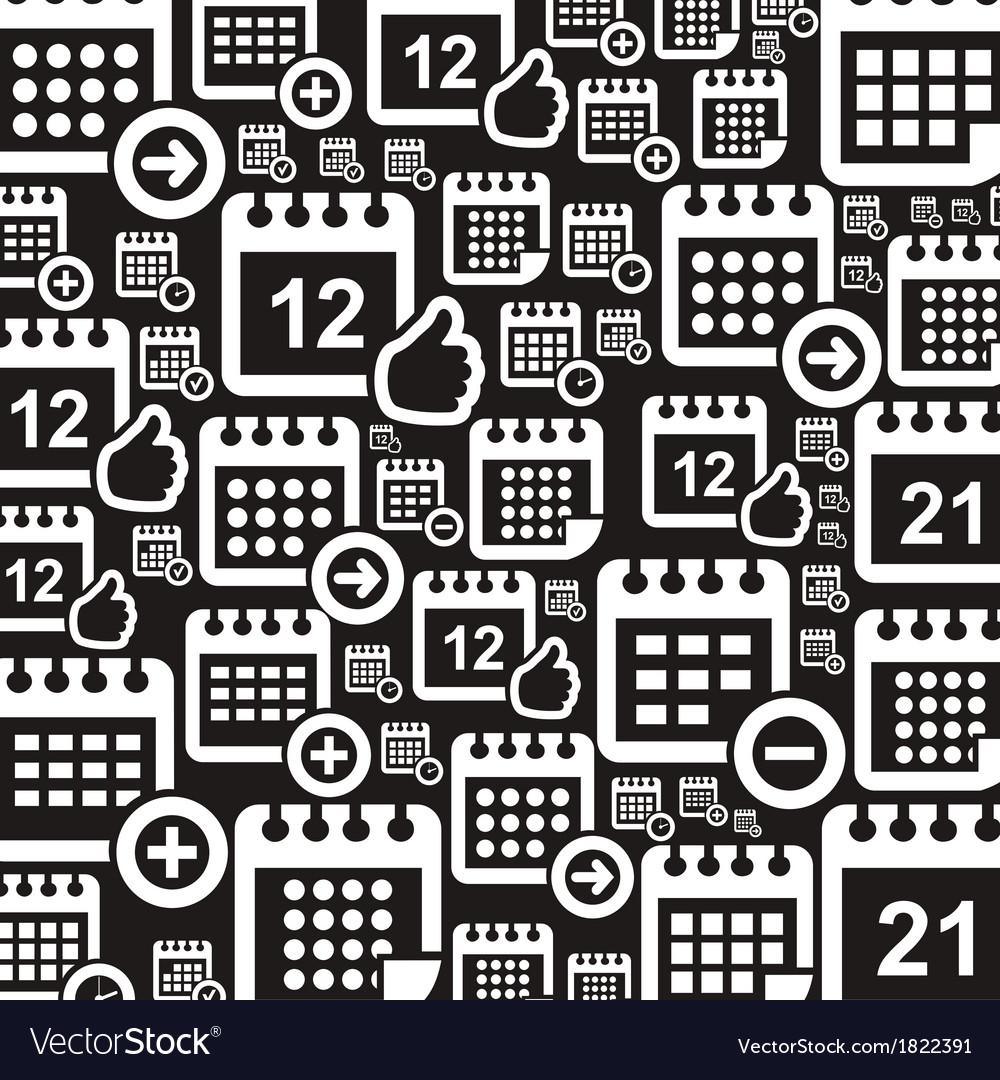 Calendar a background vector   Price: 1 Credit (USD $1)