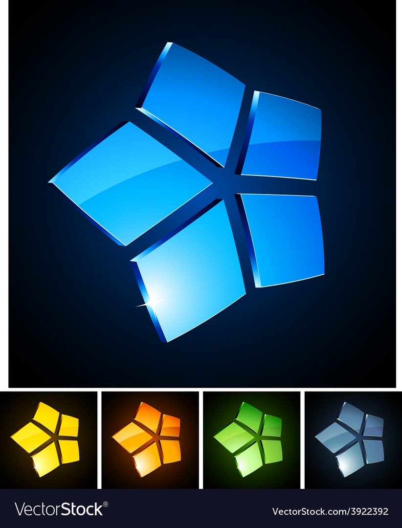 3d vibrant stars vector | Price: 1 Credit (USD $1)