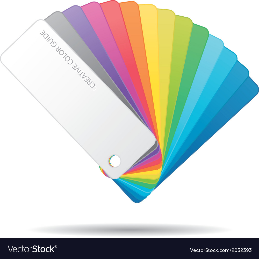 Color guide icon vector | Price: 1 Credit (USD $1)