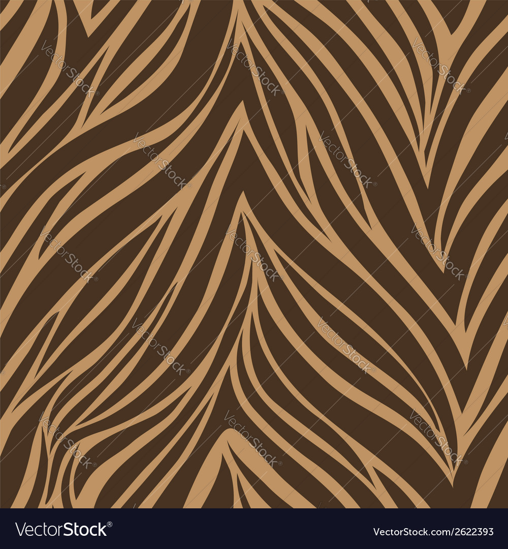 Seamless texture of tiger skin vector | Price: 1 Credit (USD $1)