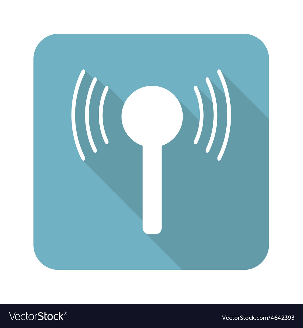 Square signal icon vector | Price: 1 Credit (USD $1)