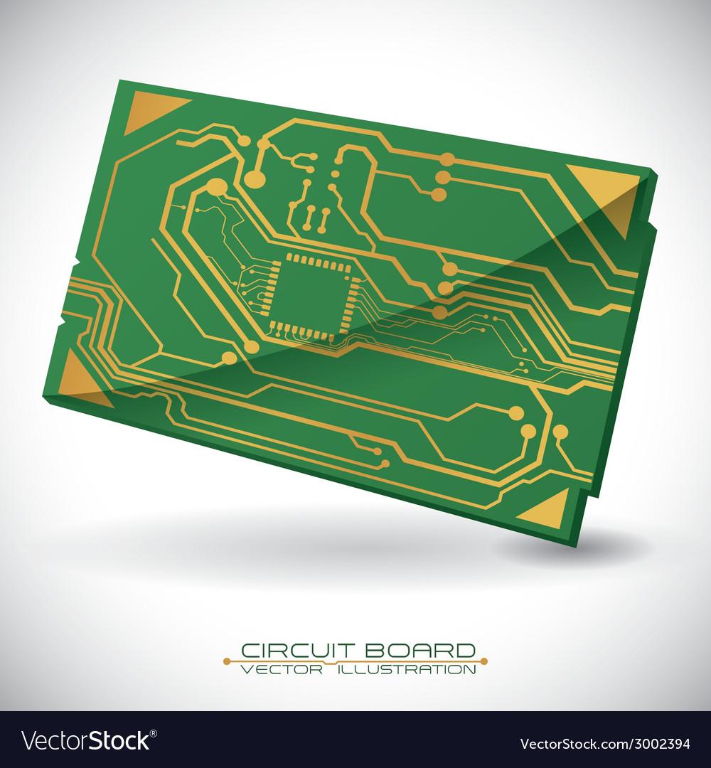 Circuit design vector | Price: 1 Credit (USD $1)