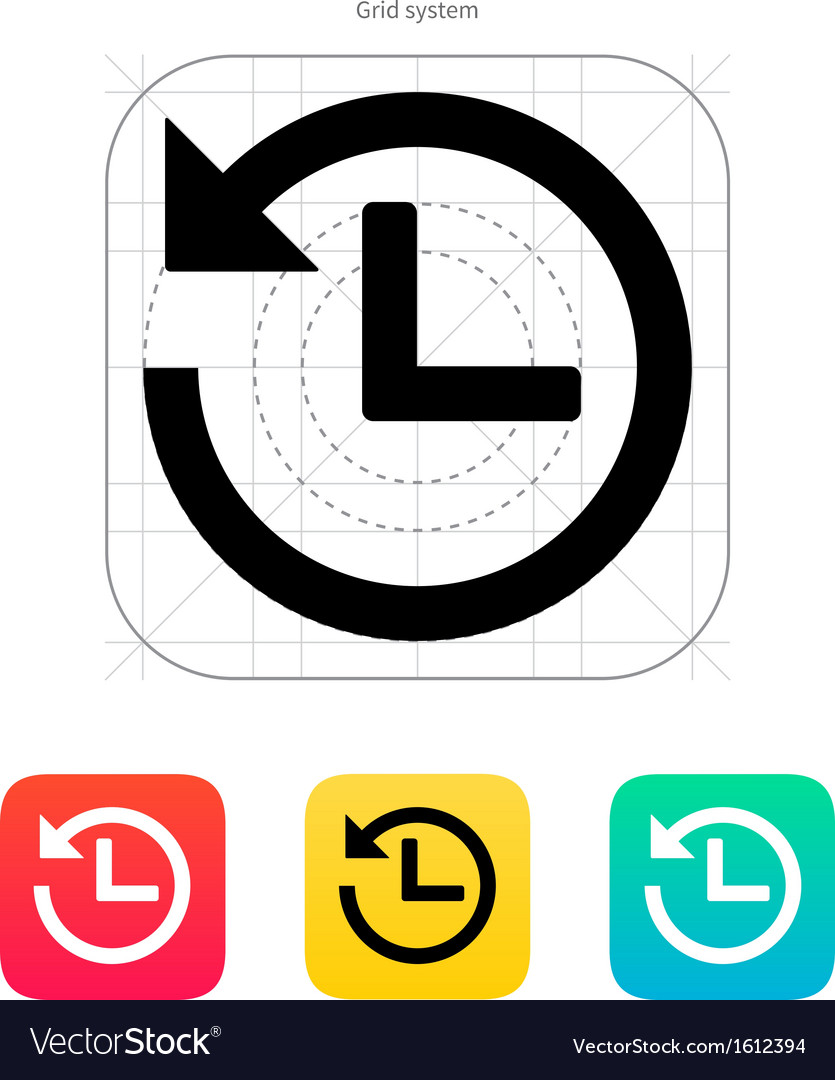 Countdown icon vector | Price: 1 Credit (USD $1)