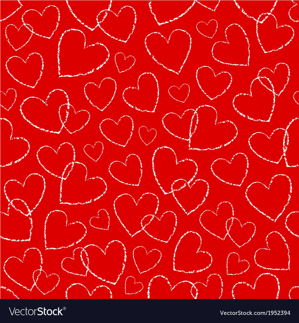 Heart seamless vector   Price: 1 Credit (USD $1)