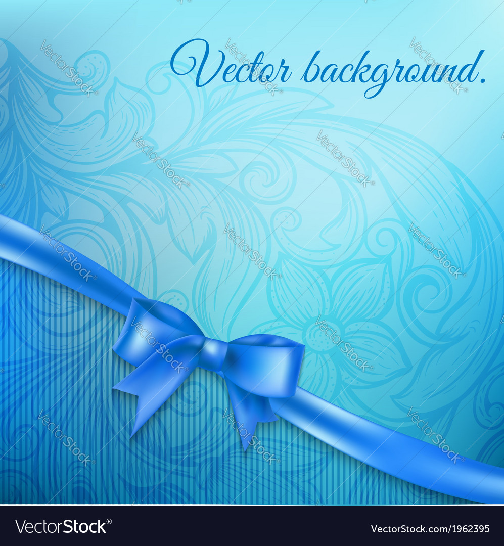 Abstract background with bow vector | Price: 1 Credit (USD $1)