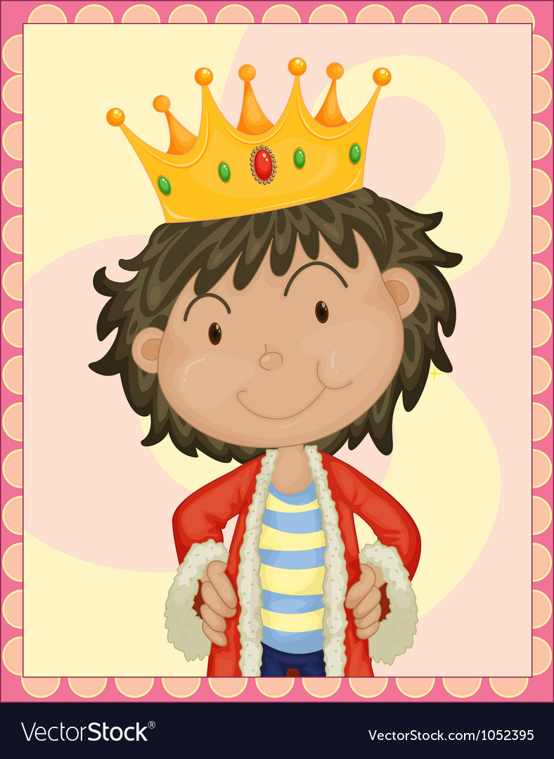 Boy king vector | Price: 3 Credit (USD $3)