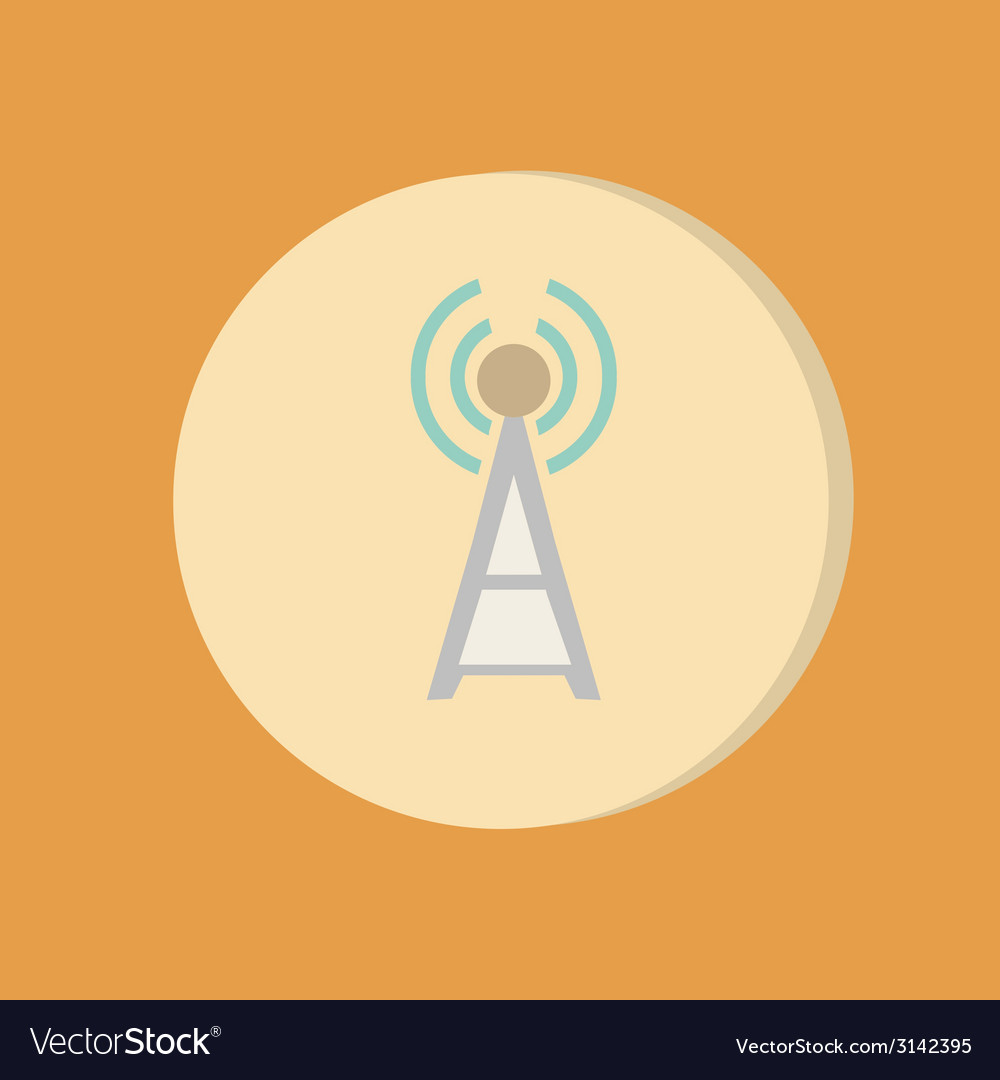 Tower wi-fi vector | Price: 1 Credit (USD $1)
